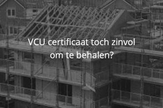 VCU bouw gevaarlijk werk
