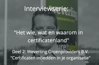 weverling iso 9001 certificaten vca co2