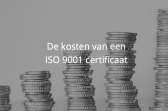 De kosten van een ISO 9001 certificaat in 2021